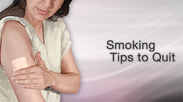 "<div class=media-desc><strong>Smoking tips to quit</strong><p>You probably know by now that smoking damages your lungs, raising your risk for bronchitis, emphysema, and lung cancer. And, you're probably well aware that lighting up also puts you at risk for many different types of cancers, as well as eye disease like cataracts and premature wrinkles, you know why you shouldn't smoke, it's just the quitting part you can't seem to get past. Let's talk about some helpful tips to help you quit smoking, for good this time. It's a familiar story, one that plays out over and over again among smokers. You vow to quit, and you have every intention of doing it, and then the cravings hit. And you can't think about anything but having a cigarette. You get irritable, and you start putting on weight. You think, ""Just one cigarette wouldn't hurt, would it?"" And then, before you know it, you're smoking again. Most smokers have tried to quit, and failed, several times. Even if you've failed before, you can still succeed at quitting. Many people have. You just need to find the technique that works for you. So, here are a few tips that can help. First, set a quit date. Write it down on your calendar and tell a few friends, so you'll be too embarrassed to back out. Before your quit date, throw out every cigarette in your house, car, and office. Also toss every ashtray, lighter, and anything else you need to smoke. Wash your clothes and clean your furniture so you won't have that smoky smell hanging around your house. Next, call your doctor. Ask about smoking cessation programs in your area. Also learn about tools that can help you quit, like medicines that reduce the urge to smoke, and nicotine replacement gums, lozenges, patches, and sprays.  And then, plan what you'll do instead of smoking. If you smoke with your morning cup of coffee, drink tea or go for a walk instead. If you need a cigarette to keep your mouth busy, try chewing sugarless gum or nibble on a carrot stick. Stick to places where smoking isn't allowed, like smoke-free restaurants. And finally, reward yourself for not smoking. Put all that money that you would have spent on cigarettes into a jar. And once you've collected enough money, use it to take a trip or buy something you've wanted for a long time. Don't get discouraged. Quitting smoking isn't easy. If it were, everyone would have done it by now. Be persistent, reward yourself for the progress you've made, and keep at it until you finally conquer the urge to smoke.  </p></div>"